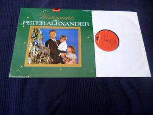 LP VINYL Peter Alexander Weihnachten mit Christmas Noel Navidad Advent Nikolaus