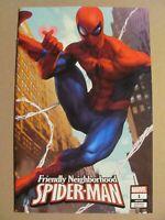 Friendly Neighborhood Spider-Man #1 Marvel 2019 Series Artgerm Variant 9.6 NM+