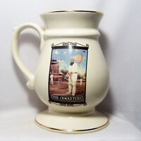 The Cricketers British Sign Stein Pint Tankard Pub World Collectables Club Mug