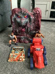 vintage he man masters of the universe job lot spares/repairs snake mountain