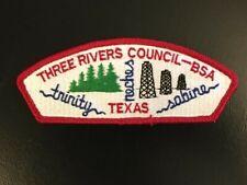 MINT 2001 JSP Twin Rivers Council Blue Border