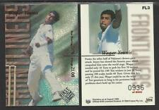 FUTERA 1996/97 CRICKET DECIDER 1st Day Issue WAQAR YOUNIS Pakistan FL3 #0936