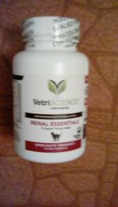 VetriScience Renal Essentials for Cats   60 tablets    Brand New Sealed Bottle