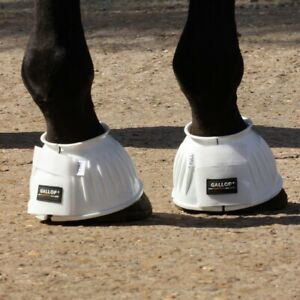 Gallop Double Tape PVC Over Reach Boots.  Pony -  Extra Full sizes. 7 colours