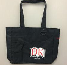 DK book publisher promo BLACK tote BAG