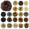 Hair Bun Extension with Messy Chignon Up-do Ponytail Scrunchies Bun Hair piece