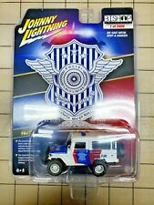 Johnny Lightning Toyota Land Cruiser Indonesian Police PJR Rare 1 of 2400