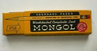 Eberhard Faber Mongol 482 #2 Woodclinched Complastic Lead Full Box of 12