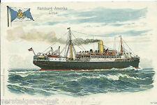 "Ak ""Corcovado"" Postdampfer,  Hamburg-Amerika Linie, Konstantinopel 1917"