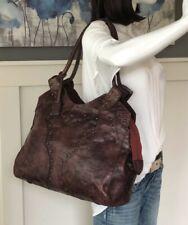 FRYE Southwestern Leather Studded Tote Shoulder Handbag Carryall Purse $328