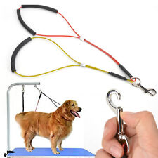 No-Sit Pet Haunch Holder Dog Grooming Restraint Harness Leash Loop for Table Arm