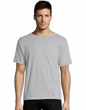 Hanes Mens T-Shirt Short Sleeve ComfortBlend EcoSmart Crewneck Plain Blank S-4XL