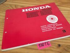 Générateur Honda parts list EM EB EG 3000 3500 X SX catalogue pièce détachée