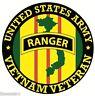 ARMY RANGER VIETNAM VETERAN BUMPER CAR STICKER DECAL