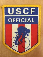 USCF Official Patch US Cycling Federation Vintage Bicycle Racing 1980-90s NOS