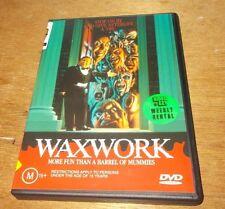 WAXWORK DVD REGION 4