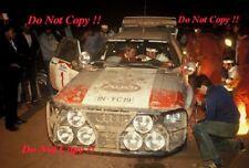Michele Mouton Audi Quattro A1 Safari Rally 1983 Photograph 1