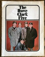 The Dave Clark 5 Concert Tour Program 1965