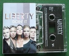 Liberty Doin' It Cassette Tape Single - TESTED