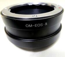 Olympus Om Objetivo Soporte Adaptador para Canon Eos R Imagen Completa