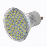 10X(GU10 4.5W White 60 SMD 3528 LED Spot Light Lamp Bulb AC 220V D7K8)
