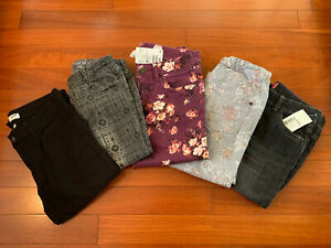 Lot 5 jeans fille 12 ans ORCHESTRA H&M dont 2 neufs