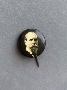 1890s -1910s Unknown  Political Campaign Pinback Button- Conn Back Markings