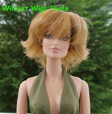 WIG  size 4  Fits Barbie and Barbie size dolls by Monique CLAIRE Ginger / Bld  *