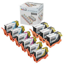 9pk Series 33 34  Extra HY Black & Color Printer Ink Cartridge for Dell V525w