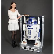Star Wars R2-D2 1/1 Big 3D Wall Figure Doll Bandai Japan Never Used Mint Movie