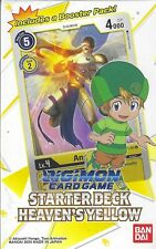 Digimon Starter Deck Heavens Yellow Englisch OVP