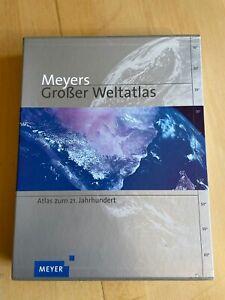 Meyers Großer Weltatlas zum 21. Jahrhundert 7. Auflage top Zustand