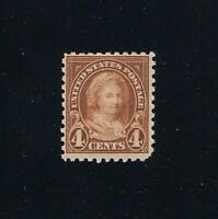 US Sc#585  - Martha - 4th Bureau Issue Perforated 10 Postage Stamp (FVF)