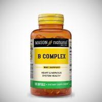 Mason Vitamin B Complex - 100 Softgels