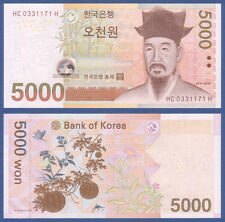 SÜDKOREA / KOREA SOUTH 5000 Won (2006) UNC  P. 55