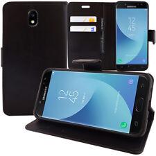Etui Housse Portefeuille Rabat Cuir PU Samsung Galaxy J5 (2017) SM-J750F/DS
