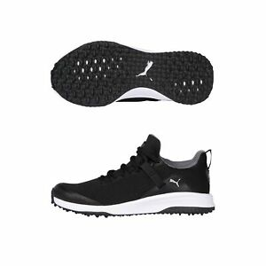 New Puma FUSION EVO Extra Wide Golf Shoes PWRStrap Fit System Pick Color