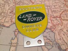 Land Rover PROPIETARIO Club Sur Serie 1 2 2a 3 DELANTERO PANEL