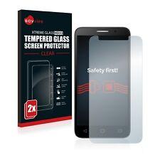 2x VITRE PROTECTION VERRE TREMPE Alcatel One Touch Pop 3 (5) Film protecteur