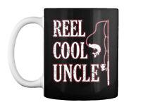 Fishing Uncle Cool Fisherman Funny Fath Gift Coffee Mug