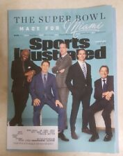 Sports Illustrated February 2020 Super Bowl Rice, Young, Manning, Brees, Namath