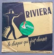 ►VINYLE 78 T. - RIVIERA - 1711 - EDDIE  BARCLAY