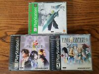 Final Fantasy Lot VII, VIII, IX  Bundle (PlayStation 1, PS1)