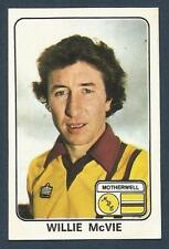 PANINI FOOTBALL 79 #533-MOTHERWELL-CLYDE-WILLIE McVIE