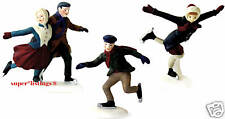 Dept. 56 Skating Party Set of 3 Retiired 2001 New England 55239 New in Box