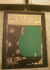 Edgar allan poe Tales of Mystery and Imagination First Edition,Dust-cover w/ Box