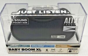 ALTEC LANSING BABY BOOM XL Rugged Bluetooth Speaker IMW270-BLK