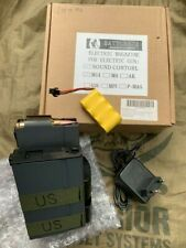 Airsoft Battleaxe M14 Grey Drum Magazine W/ Auto Wind And Sound Control **TOY**