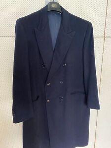 Occasione: Pregiatissimo Cappotto In Cachemire Di Sartoria