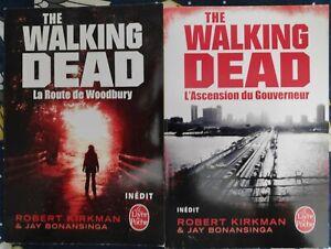 The walking dead livre de poche T1+T2